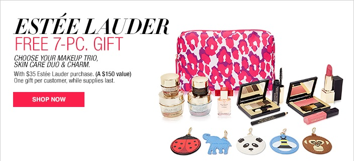 Estee Lauder Gift at Macys Sept 2016