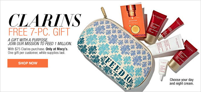 Clarins Gift at Macy's