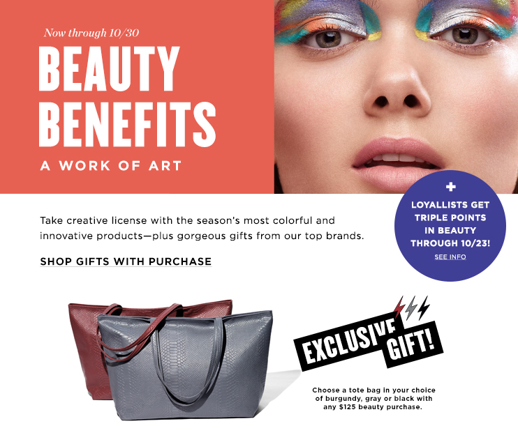 Bloomingdales Beauty Benefits Event