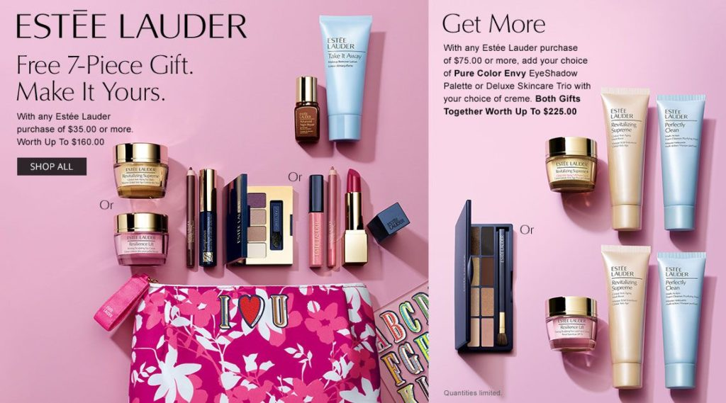 Estee Lauder Gift With Purchase at Dillards