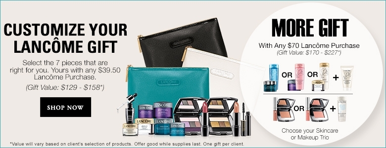 Lancome Free Gift With Purchase GWP at Lord and Taylor