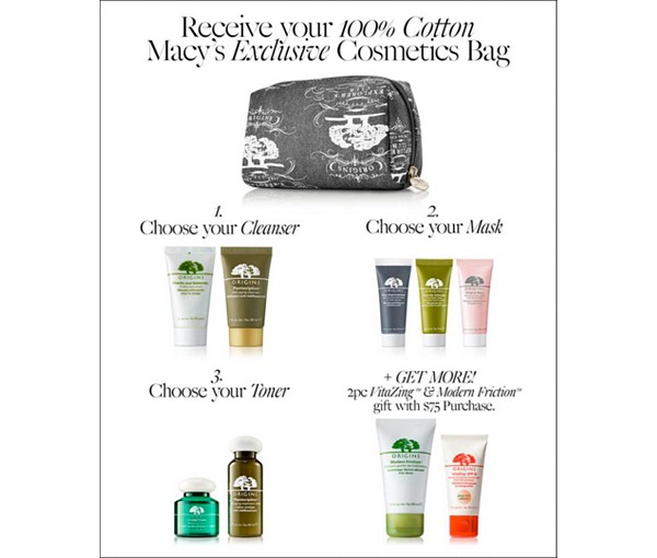 Origins Free Gift With Purchase at Macy's