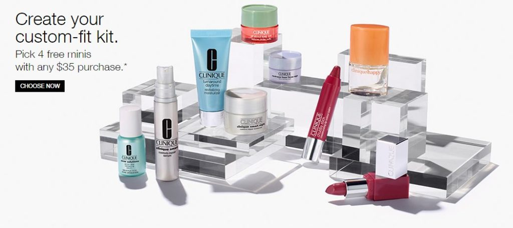 Clinique Free Gift With Purchase GWP
