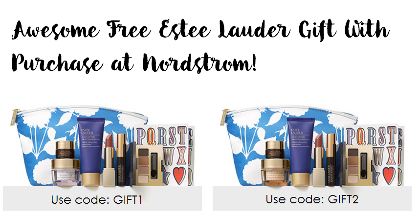 Awesome New Estee Lauder Free Gift with Purchase at Nordstrom ...
