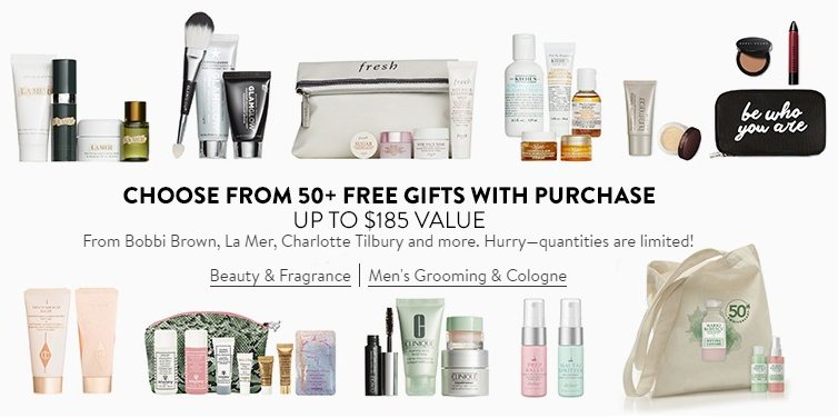 Nordstrom Triple Points Event GWP Regalos Gratis
