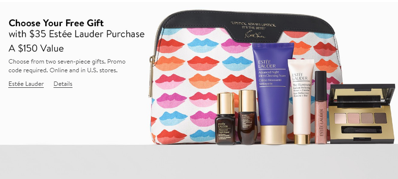 estee lauder gift with purchase gwp bonus nordstrom oct 2017