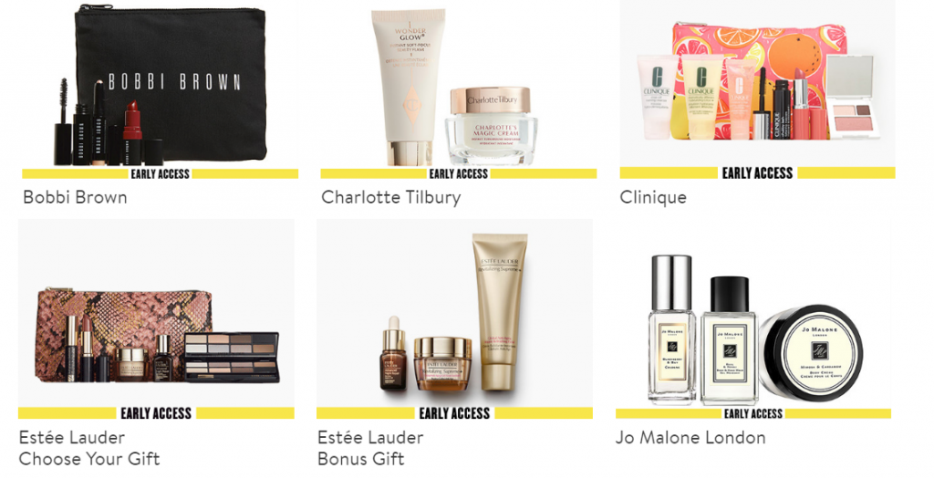 nordstrom anniversary sale beauty exclusive gift with purchase 2018