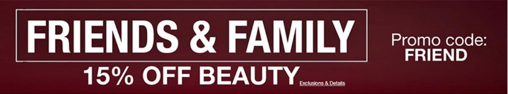 macys friends and family sale beauty nov 2018